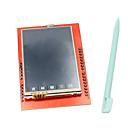 Protección de pantalla táctil TFT LCD de 2.4 pulgadas con lápiz táctil para Arduino UNO