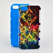 Para Funda iPhone 5 Diseños Funda Cubierta Trasera Funda Diseño Geométrico Suave TPU iPhone SE/5s/5
