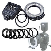 meike®은 캐논 니콘 펜탁스 올림푸스 DSLR 카메라 캠코더 매크로 링 플래시 FC-100 주도