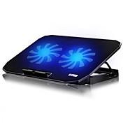 2USB 노트북 노트북 컴퓨터 쿨러 냉각 선반 팬베이스 플레이트 14,15.6, 17인치에 대한