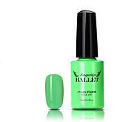 1pcs de uñas de gel UV esmalte de larga duración gel del clavo empapa-apagado llevó la lámpara del gel de 12 ml de ballet punta del dedo