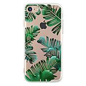Para Funda iPhone 7 Funda iPhone 7 Plus Funda iPhone 6 Carcasa Funda Ultrafina Diseños Cubierta Trasera Funda Árbol Suave TPU para Apple