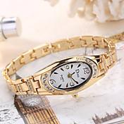 여성용 패션 시계 손목 시계 독특한 창조적 인 시계 캐쥬얼 시계 석영 합금 밴드 참 우아한 멋진 캐쥬얼 창의적 럭셔리 실버 골드 로즈 골드