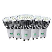 7W Focos LED 48 SMD 2835 600-700 lm Blanco Cálido Blanco Fresco Blanco Natural Decorativa V 5 piezas GU10