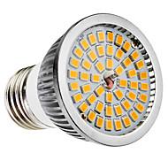 E27 6w 48x2835smd 500-600lm 2700-3500k ζεστό λευκό φως led spot λαμπτήρα (110-240v)