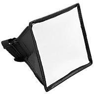 Canon Nikon için 15x17cm Taşınabilir Flaş softbox Difüzör Flaş