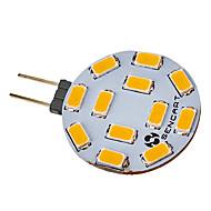 5w g4 doprowadziło światło punktowe 12 smd 5730 420-500 lm ciepły biały / chłodny biały dc 12 / ac 12 v