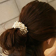 Fashion snor perler Assorted farve stof hårbånd til kvinder (flere farver) (1 stk)