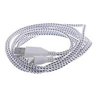 USB 2.0 Mikro USB 2.0 Flettet Kabel Til 200 cm Nylon