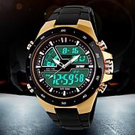 SKMEI Męskie Sportowy Modny Zegarek na nadgarstek Zegarek cyfrowy Kwarcowy Cyfrowe Kwarc japońskiLCD Kalendarz Chronograf Wodoszczelny