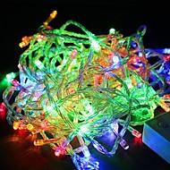 RGB 빛 100led 방수 10m 크리스마스 조명 장식 문자열 조명 (110V)를 주도