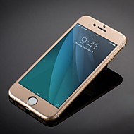 divat luxus titán ötvözet, edzett üveg a teljes lefedettség képernyővédő fólia iPhone 6s plusz / 6 plus