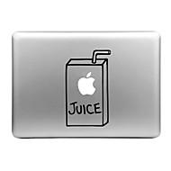 kalap-prince juice box tervezett cserélhető dekoratív bőr matrica MacBook Air / Pro / pro retina kijelző