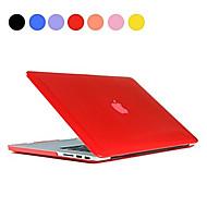 κορυφή πώληση στερεό χρώμα λεπτή σκληρή διάφανη θήκη πλήρες σώμα για τον αέρα MacBook 13,3 ιντσών (διάφορα χρώματα)