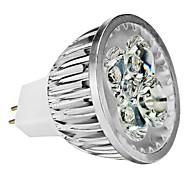 4W GU5,3(MR16) LED-kohdevalaisimet MR16 4 Teho-LED 350 lm Lämmin valkoinen Kylmä valkoinen Neutraali valkoinen Himmennettävissä DC 12 AC