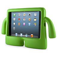 Für Wasserfest / mit Halterung / Kindersicherung Hülle Rückseitenabdeckung Hülle Einheitliche Farbe Hart EVA Apple iPad Mini 3/2/1
