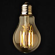 3 stuks ONDENN E26/E27 6 COB 600 LM Warm wit A60(A19) edison Vintage LED-bollampen AC 220-240 / AC 110-130 V