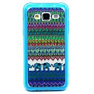 Για Samsung Galaxy Θήκη Με σχέδια tok Πίσω Κάλυμμα tok Γραμμές / Κύματα PC Samsung J7 / J5 / J1