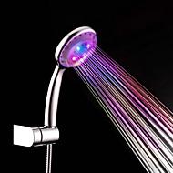 Kortárs Kézi zuhanyzó Króm Funkció for  LED Zápor , Zuhanyfej