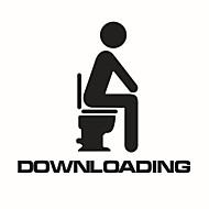 Matricák Toilet / Bathtub / Zuhany / Medicine Cabinets Műanyag Több funkciós / Környezetkímélő / Rajzfilm / Ajándék