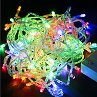 youoklight® multi-χρώμα RGB 180-LED Χριστούγεννα / διακόσμηση φώτα εγχόρδων (18μ / 220-240V ac)
