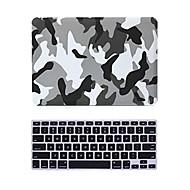 """2 i 1 mat overflade krystal gummieret hård sag dækning for MacBook Pro 13 """"/ 15"""" + tastatur cover"""