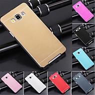 df luxe hoge kwaliteit effen kleur geborsteld aluminium koffer voor samsung galaxy a3 (verschillende kleuren)
