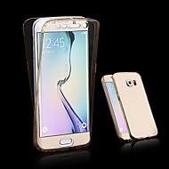 przez Galaxy a3 a5 2017 360 stopni ostateczne zabezpieczenie TPU miękkiego tylnej części obudowy dla Galaxy 2016 A310 A510 A710