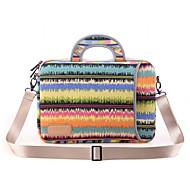 note mønstre laptop skuldertaske vandtæt lærred håndtaske til MacBook Air 13.3 macbook pro13.3 / 15.4