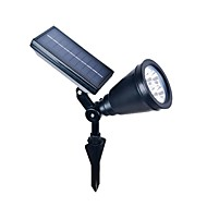 4LED abs outdoor zonne-energie spotlight landschap spot light gazon vloedlamp