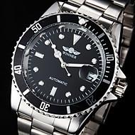 WINNER Pánské Hodinky k šatům Módní hodinky Náramkové hodinky mechanické hodinky Automatické natahování Kalendář Voděodolné Svítící Nerez