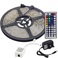 5m 300x3528 SMD pasek LED RGB światło i 44key pilot i 3a uk zasilania (ac110-240v)