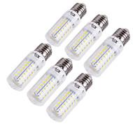 15W E14 / E26/E27 LED 콘 조명 T 56 SMD 5730 1350 lm 따뜻한 화이트 / 차가운 화이트 장식 AC 220-240 / AC 110-130 V 6개