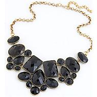 Damskie Naszyjniki z wisiorkami Oświadczenie Naszyjniki Vintage Naszyjniki Cross Shape Biżuteria Perłowy Stop Modny Europejski Wyrazista