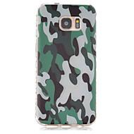 Voor Samsung Galaxy S7 Edge Patroon hoesje Achterkantje hoesje Camouflage Kleur TPU Samsung S7 edge / S7