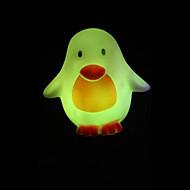 kreatív színváltó pingvin színes led nightlight