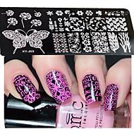 Nail Art Stempelen Plate Stamper schraper 12*6