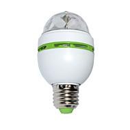 3W Oświetlenie sceniczne LED 100 lm RGB SMD Aktywacja za pomocą dźwięku AC 85-265 V 1 szt