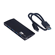 USB 3.0 4 port / interfész USB hub slim 11 * 4 * 1