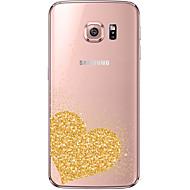 Για Samsung Galaxy S7 Edge Διαφανής / Με σχέδια tok Πίσω Κάλυμμα tok Καρδιά Μαλακή TPU Samsung S7 edge / S7 / S6 edge plus / S6 edge / S6
