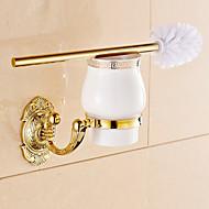 화장실 브러쉬 홀더 / 욕실 제품 / Ti-PVD / 벽걸이형 /5.1*2.36*14.96 inch /황동 /네오 클래식 /13cm 6cm 0.8KG