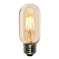4w e27 T45 edison stijl antieke geleid gloeidraad buisvormige lamp (220-240V)