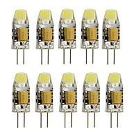 3 G4 Luminárias de LED  Duplo-Pin T 1 LED de Alta Potência 260 lm Branco Quente / Branco Frio Decorativa AC 12 V 10 pçs