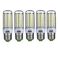 15W E26/E27 LED-maïslampen T 72 SMD 5730 980LM lm Warm wit / Koel wit Decoratief AC 220-240 V 5 stuks