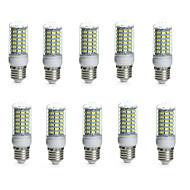 10W E14 / G9 / GU10 / B22 / E26/E27 LED-maïslampen TL 69 SMD 5730 850-950 lm Warm wit / Koel wit Decoratief / WaterbestendigAC 220-240 /