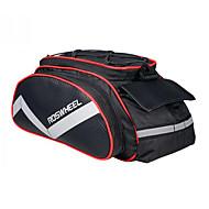 ROSWHEEL® 자전거 가방 13L자전거 트렁크 백/자전거 짐바구니 / 어깨에 매는 가방 방습 / 충격방지 / 착용할 수 있는 싸이클 가방 PU 피혁 / 600D 폴리에스터 싸이클 백 40*16*21