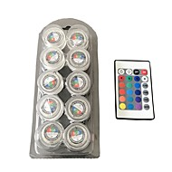 Αδιάβροχο γύρω από το φως κεριών / rgb / πλήρους χρώματος οδήγησε φώτα 1box 10pcs