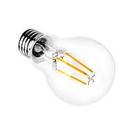 1pcs 4W A60 Ε27 οδήγησε λυχνίας πυράκτωσης λαμπτήρες σαφές γρασίδι Edison εσωτερική οδήγησε φωτισμού 110 / 240v