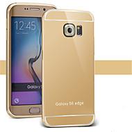 bling metalen aluminiumlegering spiegel acrylaat Cover Case voor Samsung S3 / S4 / S5 / s6 / s6 edge / s6 rand plus