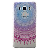 Samsung galaxy j5 j3 (2016) kotelon suojus blus campanula kuvio maalattu tpu materiaali puhelimen kotelo